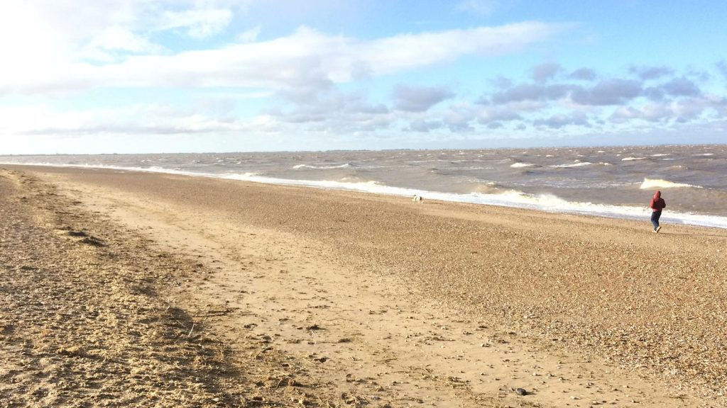 Snettisham Beach, by Louise Clewley