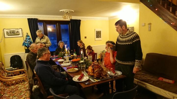 Turkey dinner, by Jacquie Clark