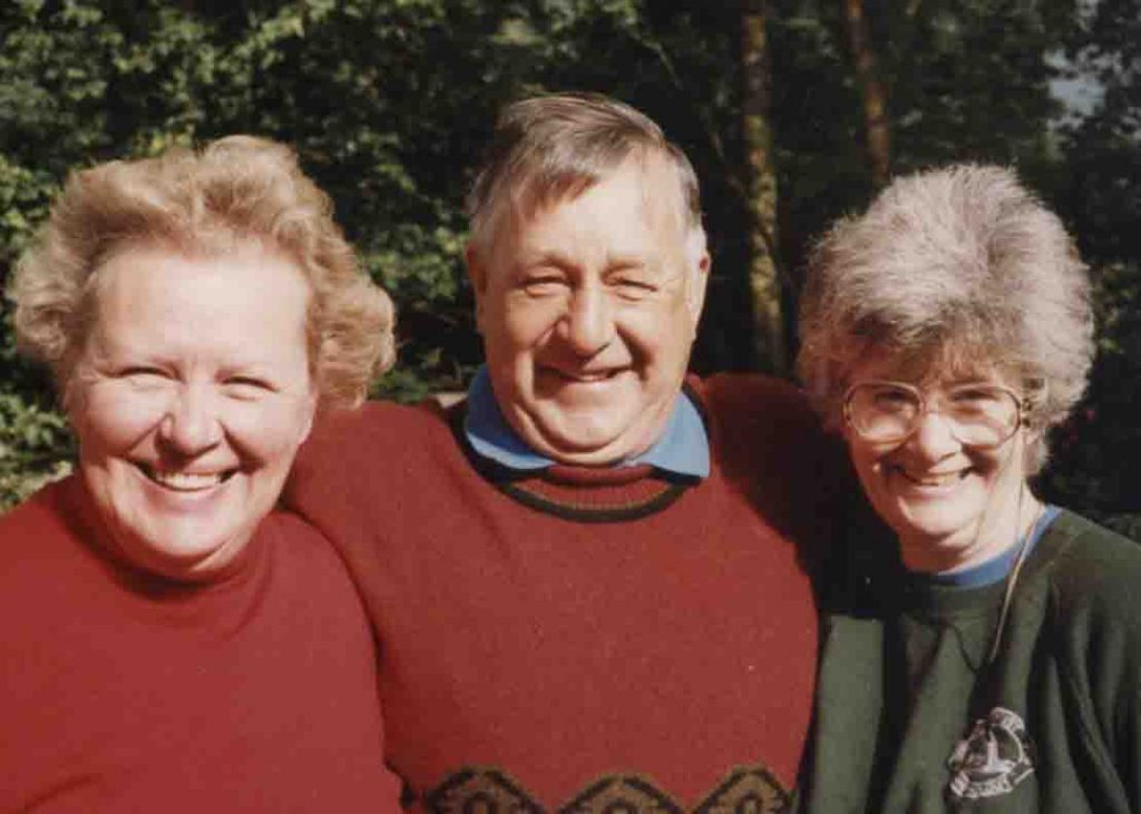 Clive and Pat Minton and Daphne Watson