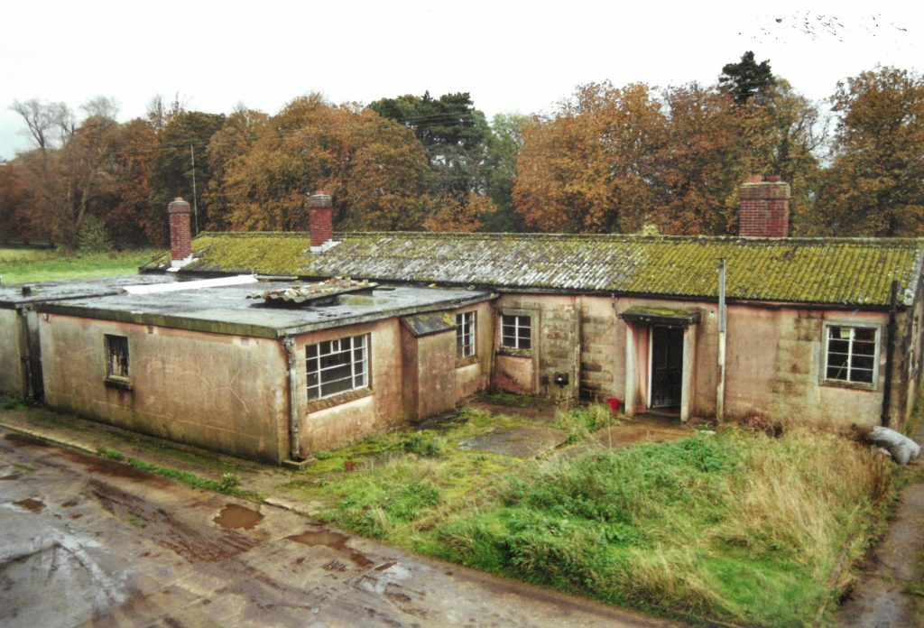 Photo of the West Newton base used by the Group from 1978 to 2001.